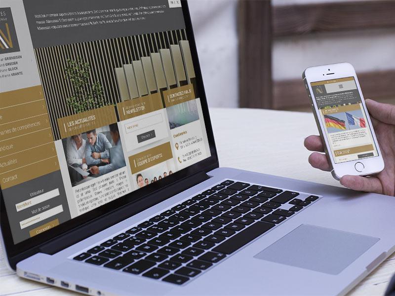 Création du site internet des Notaires de la Wantzenau
