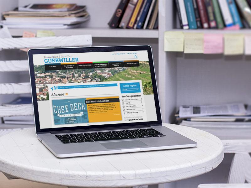Création du site internet de la ville de Guebwiller